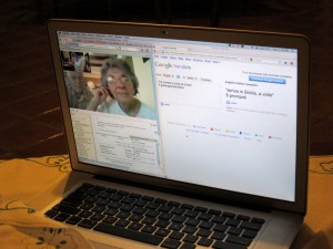 Chatting across the world with Google Video Chat and Google Translate